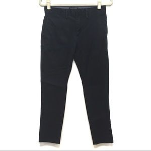 BANANA REPUBLIC DARK NAVY SKINNY FULTON CHINO PANT